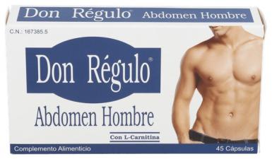 Don Regulo Abdomen Hombre 45 Cápsulas - Don Regulo