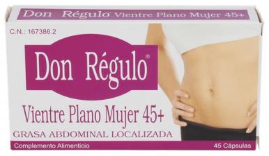 Don Regulo Vientre Plano Mujer 45 + 45 Capsulas