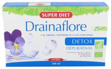 Drainaflore 20 Ampollas Super Diet