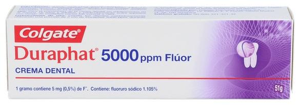 Duraphat 5000 Ppm Fluor 51 G - Varios