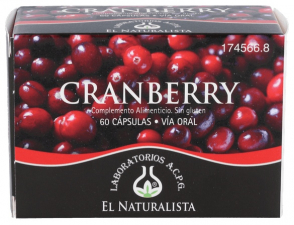 El Naturalista Cranberry 60 Cápsulas - Farmacia Ribera