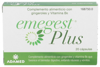 Emegest Plus 20 Caps - Adamed
