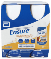 Ensure Nutrivigor 4 Botellas 220 Ml Chocolate - 3M