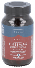 Enzimas Digestivas Comprimidoslex 50 Cápsulas - Terranova