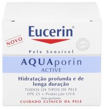 Eucerin Aquaporin FPS 25+ UVA Tarro 50 Ml