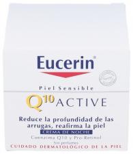 Eucerin Cutis Sensible Q10 Active Noche 50 Ml - Beiersdorf