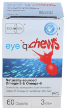 Eye-Q Chews 60 Caps - Vitae Natural - Farmacia Ribera