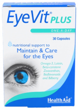 EyeVit Plus 30 Cápsulas - Health Aid