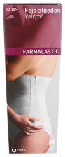 Faja Farmalastic Velcro Blanca T1 - Cinfa