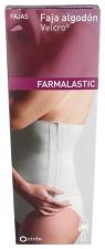 Faja Farmalastic Velcro T-1 Beig