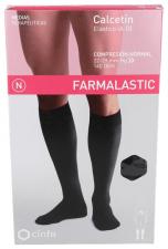 Farmalastic Calcetín (A-D) Compresión Normal Talla Pequeña Negro 1 Unidad - Farmacia Ribera