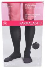Farmalastic Calcetin Antibacteriano Compresión Normal Talla Egde Negro - Farmacia Ribera