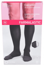 Farmalastic Calcetin Antibacteriano Compresión Normal Talla Grande Negro - Farmacia Ribera