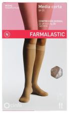 Farmalastic Media Corta (A-D) Compresión Normal Talla Pequeñabeige - Farmacia Ribera