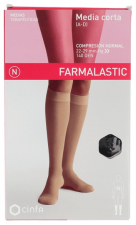 Farmalastic Media Corta (A-D) Compresión Normal Talla Pequeñanegro - Farmacia Ribera