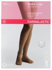 Farmalastic Media Larga Blonda (A-F) Compresión Normal T. Grande Blan - Farmacia Ribera