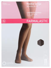 Farmalastic Media Larga Blonda (A-F) Normal Talla Mediana - Farmacia Ribera