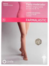 Farmalastic Panty Modelador (E-T) Compresión Normal Talla Mediana Beige - Farmacia Ribera