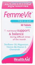 FemmeVit 60 Comprimidos - Health Aid