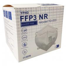 YPHD Mascarilla FFP3 NR 25uds