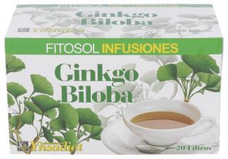 Fitosol Inf.Ginkgo Biloba 20 Filtros