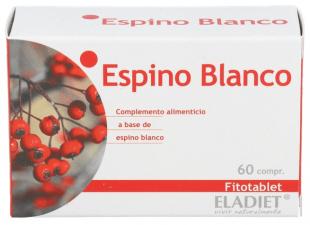 Fitotablet Espino Blanco 60 Comp. - Eladiet