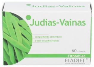 Fitotablet Judias Vainas 60 Comp. - Eladiet