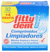Fittydent Super Comprimidos Limpiadores