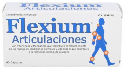 Flexium Articulaciones 60 Caps - ionfarma