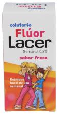 Fluor Semanal 0,02% 100 Ml. Fresa - Lacer