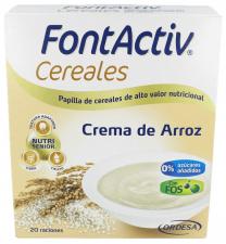 Fontactiv Cereales Crema De Arroz 600 Gr - Farmacia Ribera