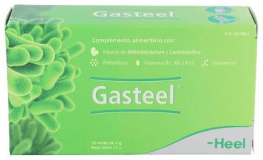 Gasteel 10 Sticks - Farmacia Ribera