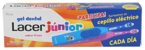 Gel Junior Fresa 75 Ml. - Lacer