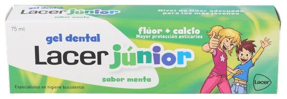 Gel Junior Menta 75 Ml. - Lacer