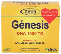 Genesis Dha 1000Tg 30Caps Zeus
