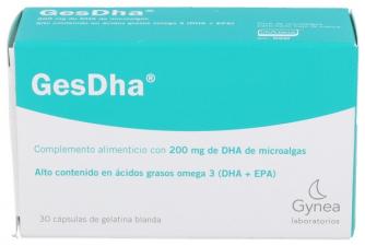 Gesthada 200 mg. 30 Comprimidos