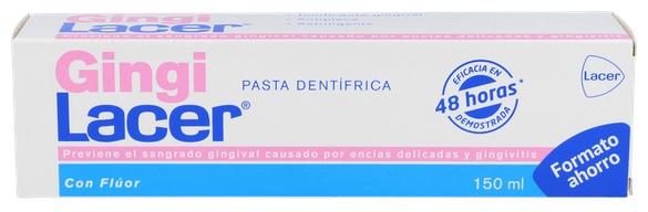 Gingilacer Pasta 150 Ml. (Formato Ahorro) + Colutorio 100Ml. - Lacer