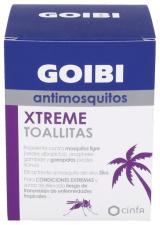 Goibi Xtreme Antimosquitos Tropical Toallitas 16