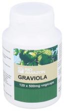 Graviola 500 Mg 120 Capsulas Rio Amazon - Varios