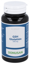Gsh Glutation 100Mg. 60V Cap.  - Bonusan