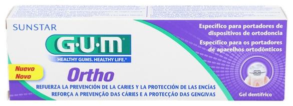 Gum Ortho Gel Dentifrico 75 Ml - Farmacia Ribera