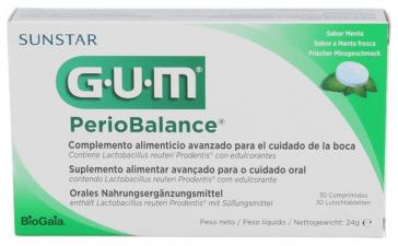 Gum Periobalance 30 Tabletas - GUM