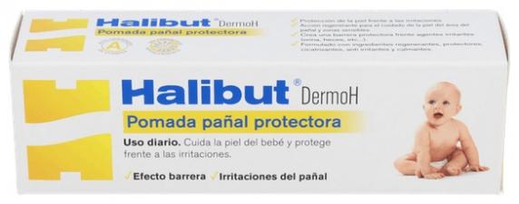 Halibut Dermo H Pomada Pañal Protectora 45Gr - Aquilea-Uriach