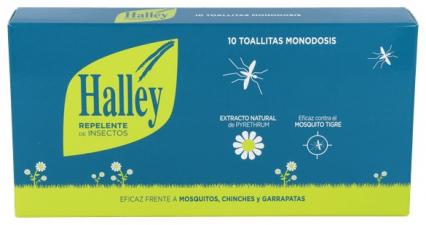 Halley Repel Insecto Toallitas - Varios