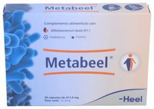 Heel Metabeel 30 Cápsulas - Farmacia Ribera