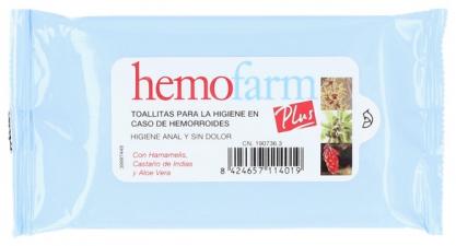Hemofarm Toallitas