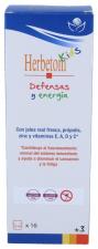 Herbetom kids defensas y energía Jarabe 250 Ml.**