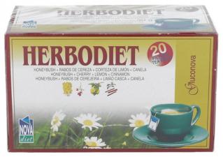 Herbodiet Inf. Gluconova 20 Filtros - Novadiet