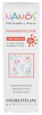 Hidrotelial Nanos Fotoprotector Mineral Fps 50+ - InifarcoCosmeceuticals