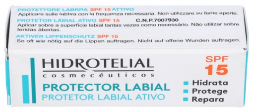 Hidrotelial Protector Labial Spf15 4G - Varios